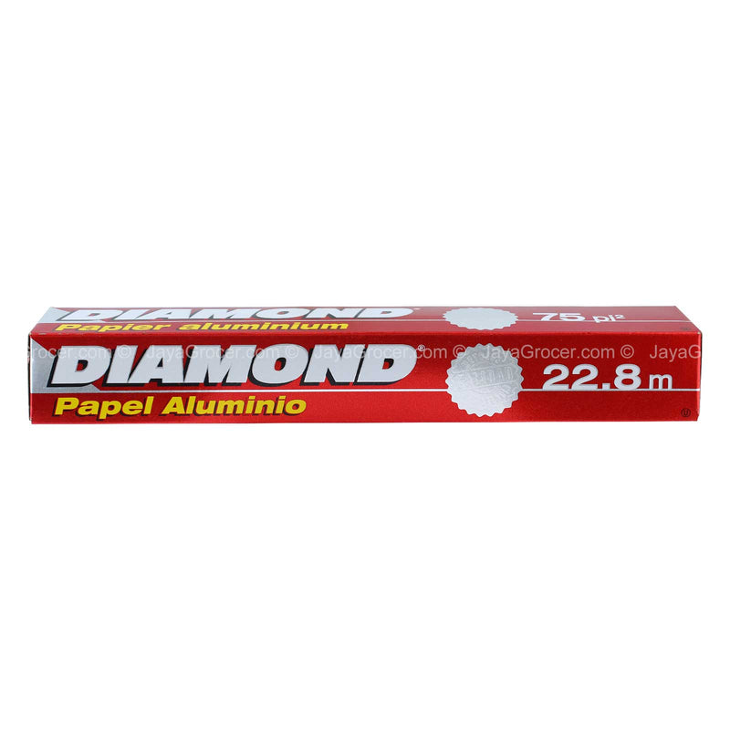 Diamond Aluminium Foil 75feet 22.8m x 30.4cm 1unit