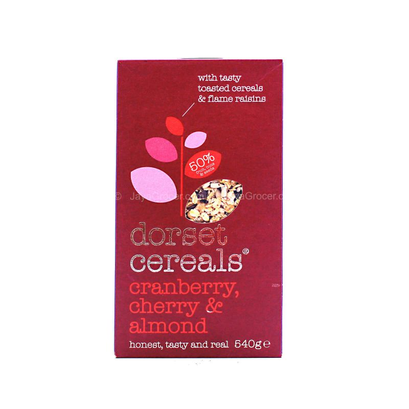 Dorset Cranberry & Cherry & Almond Cereal 540g