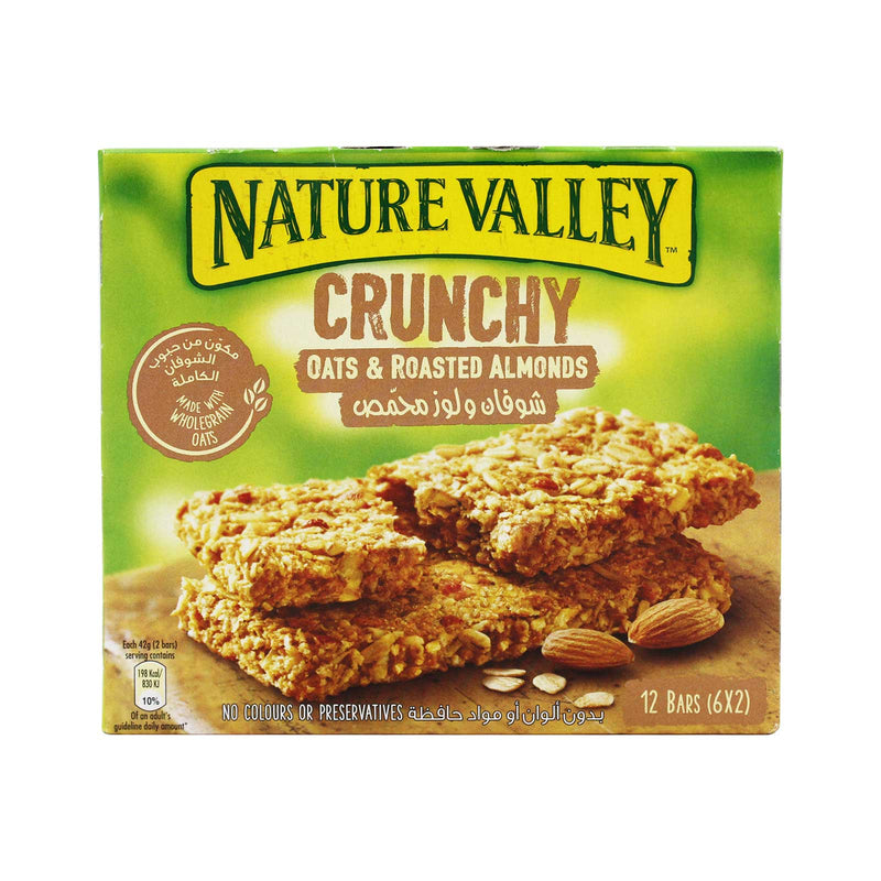 Nature Valley Roasted Almond Granola Bars 42g x 6