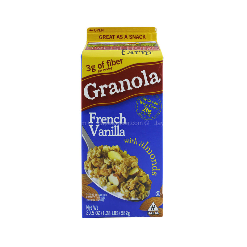 Sweethome Farm French Vanilla Granola Cereal with Almonds 582g
