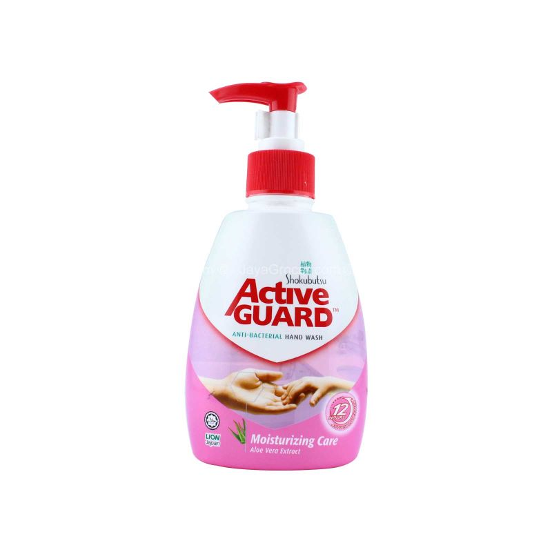 Shokubutsu Active Guard Moisturizing Care Anti-Bacterial Hand Wash 220ml