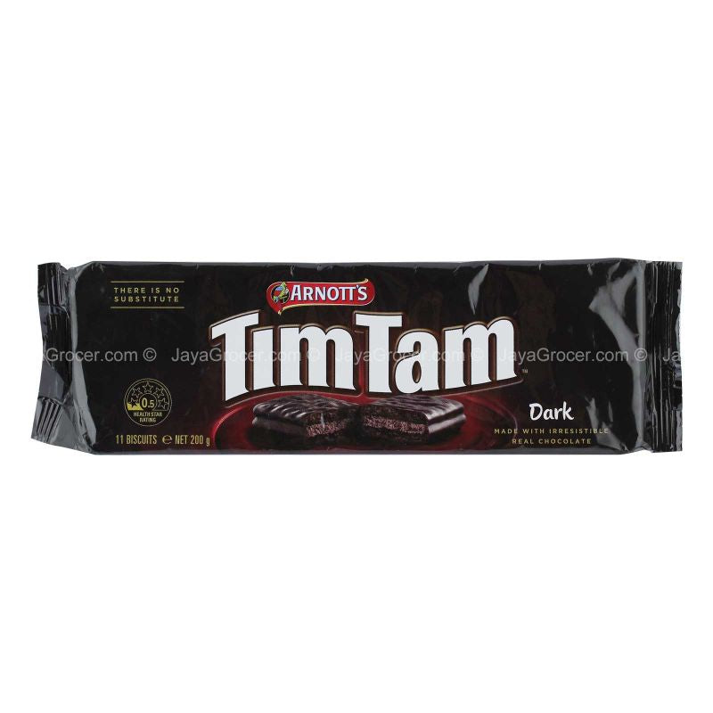 Arnott's TimTam Dark Chocolate Biscuit 200g