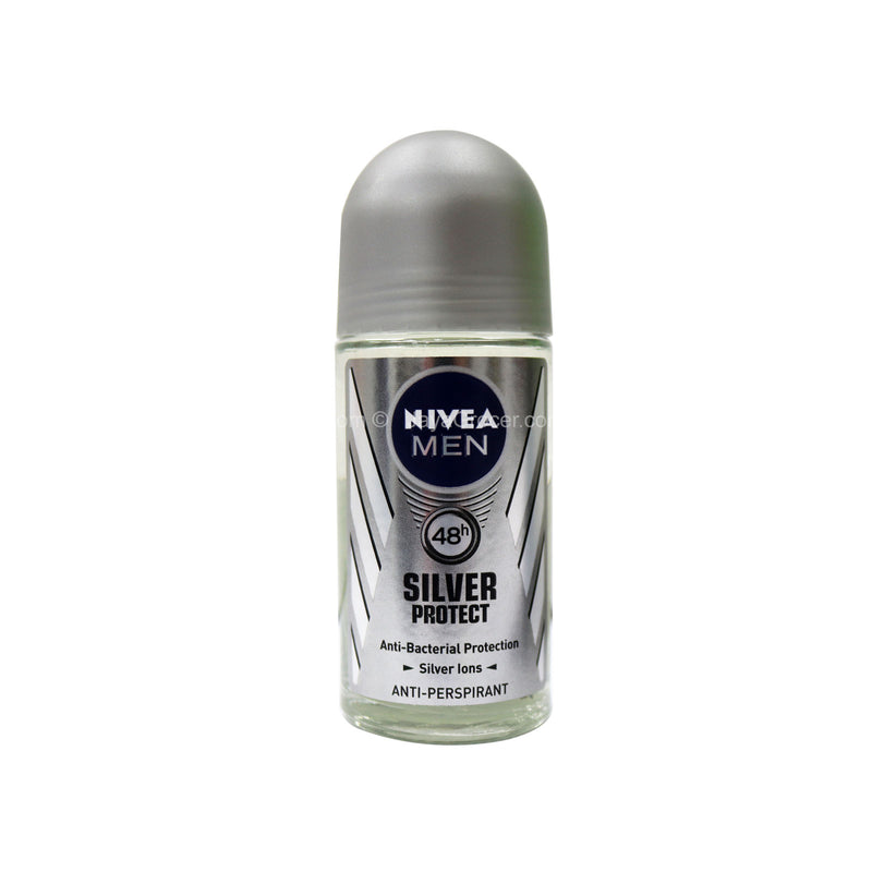 Nivea Men Silver Protect Anti-Perspirant Roll-On Deodorant 50ml
