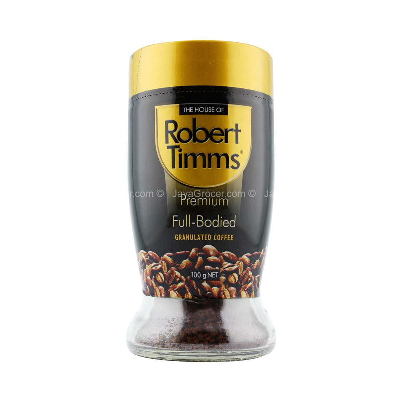 The House of Robert Timms Premium Full-Bodied Granulated Coffee 100g