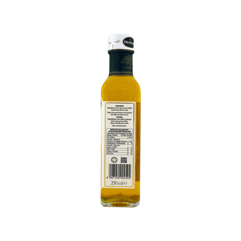 Olitalia Extra Virgin Olive Oil with Lemon 250ml
