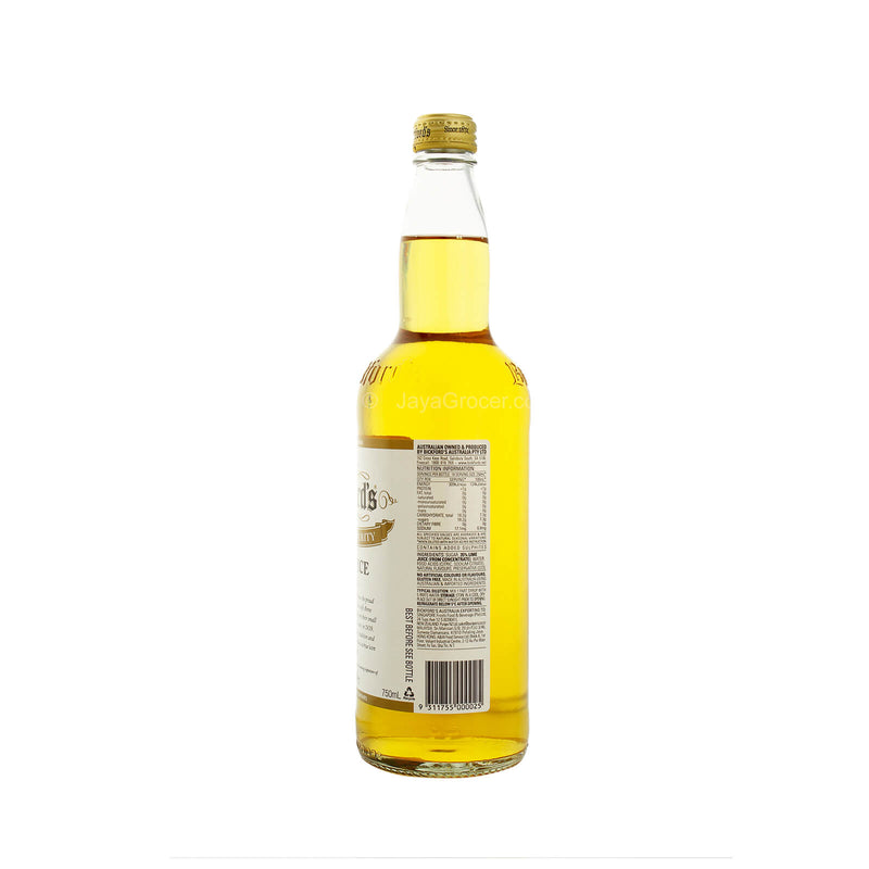 Bickford's Lime Juice Cordial 750ml