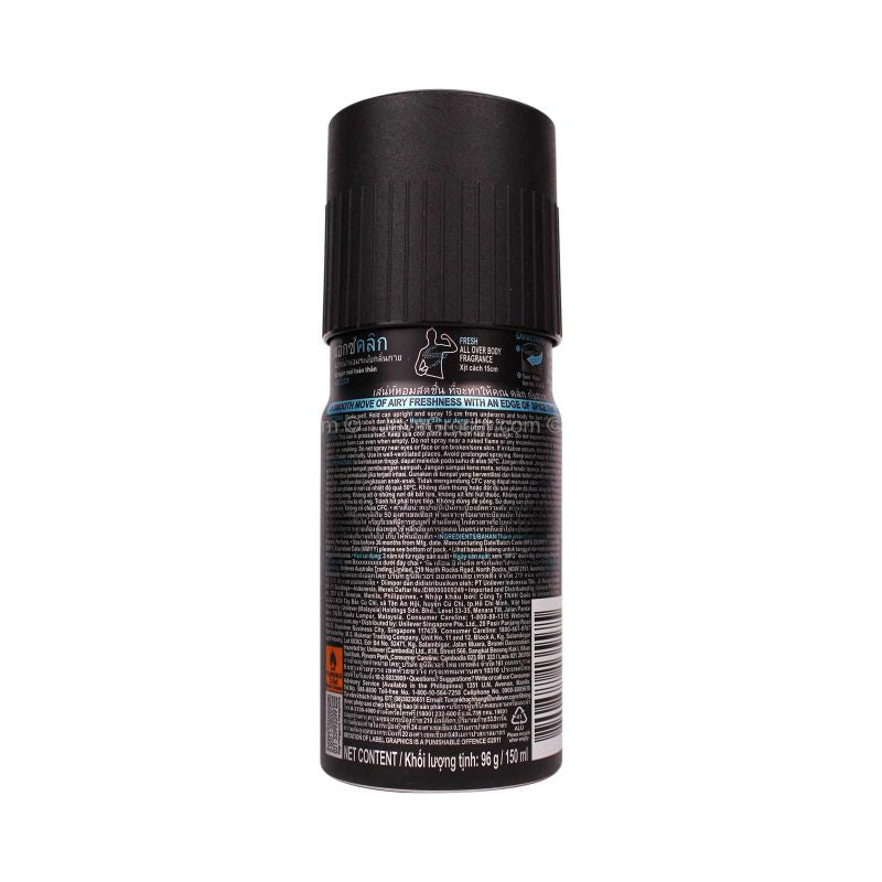 Axe Click Deodorant Spray 150ml