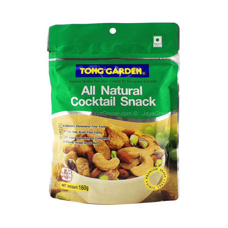 Tong Garden All Natural Cocktail Snack 160g