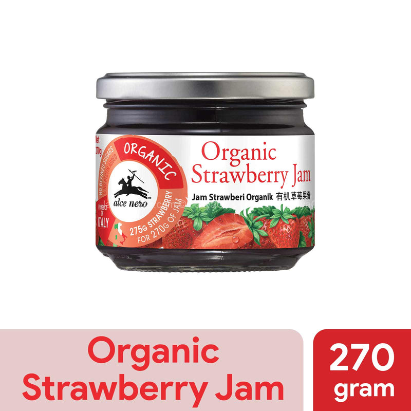 Alce Nero Organic Strawberry Jam 270g