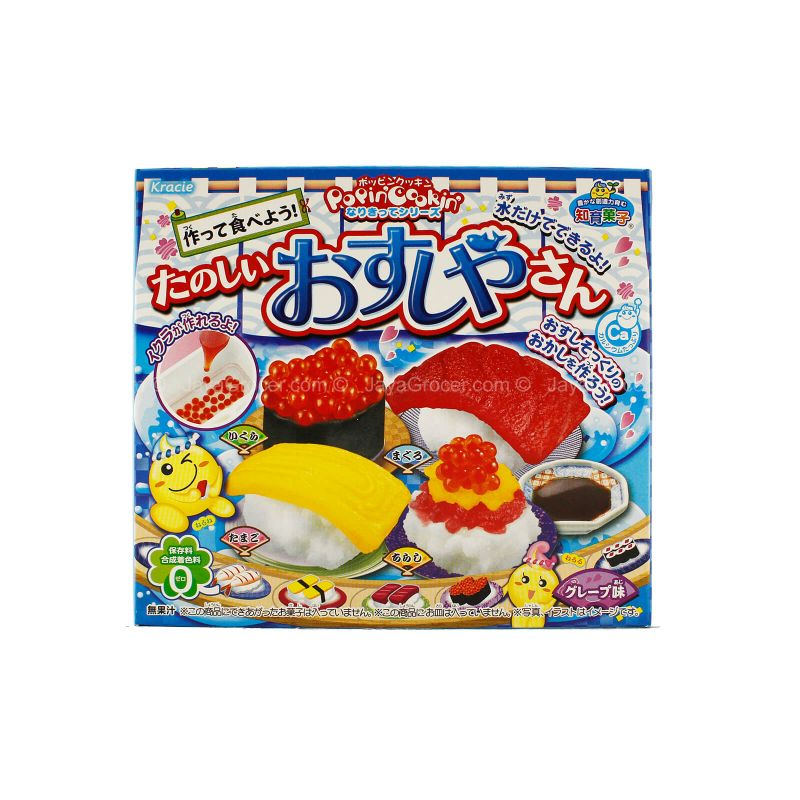 Kracie Popin' Cookin' Candy Sushi Candy Making Kit 28.5g