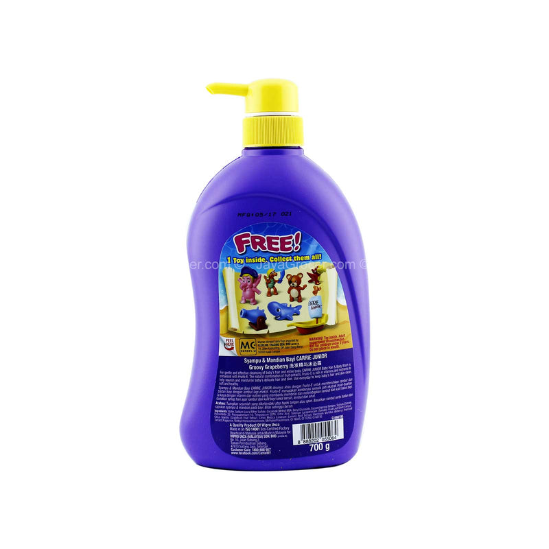 Carrie Junior Baby Hair & Body Wash Groovy Grapeberry 700g