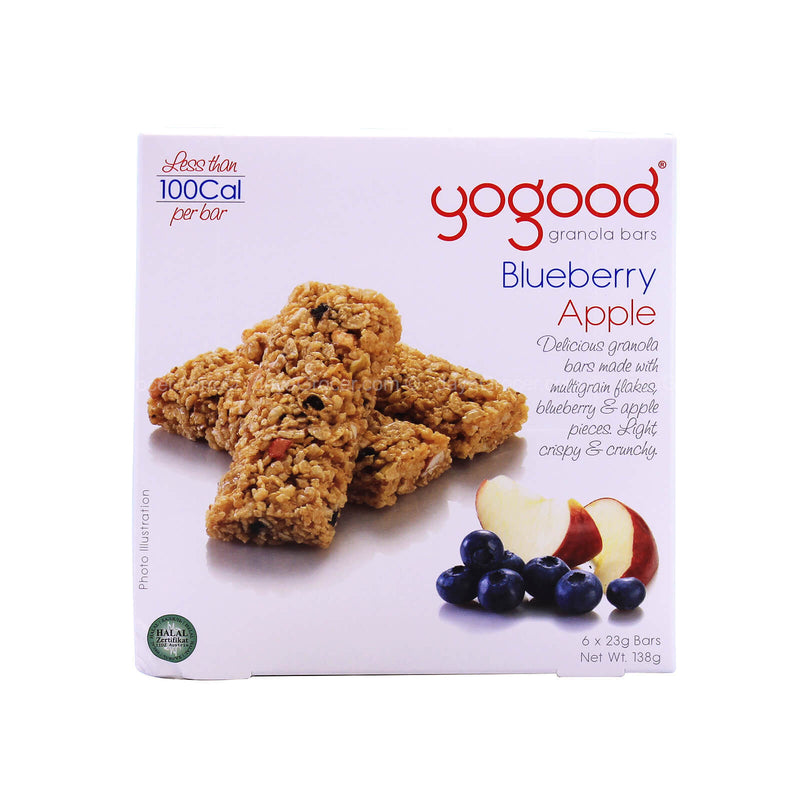Yogood Blueberry Apple Granola Bars 138g