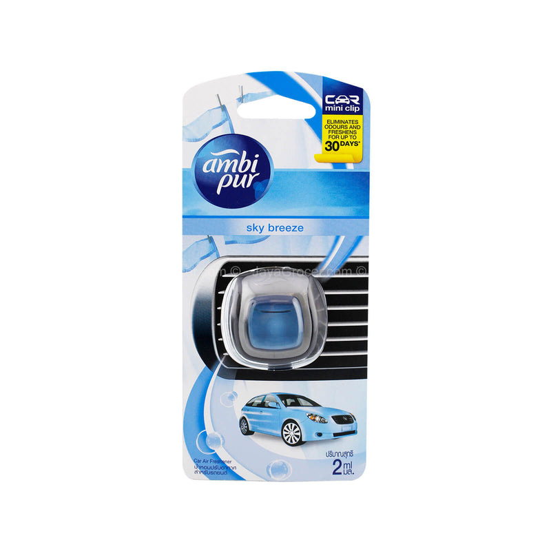 Ambi Pur Sky Breeze Car Mini Clip Fragrance 2ml