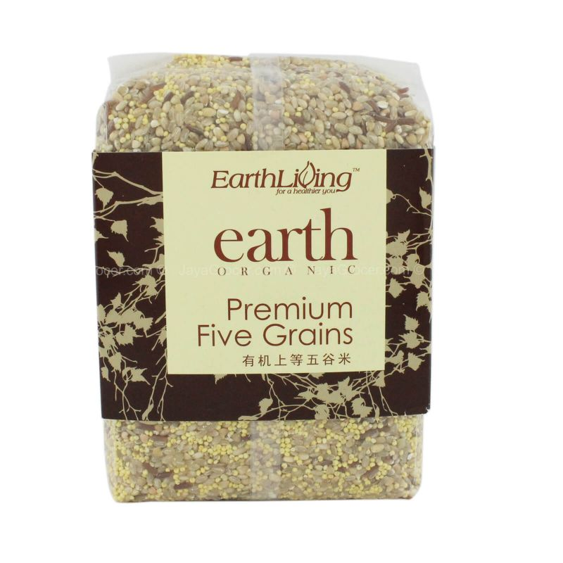 Earth Living Organic Premium Five Grains Rice 1kg
