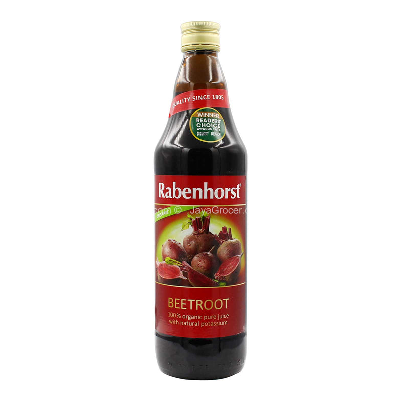Rabenhorst Organic Beetroot Vegetable Juice 750ml