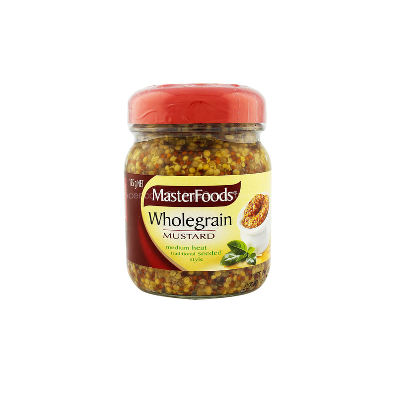 Master Foods Wholegrain Mustard 175g