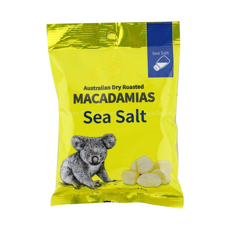 Suncoast Gold Sea Salt Roasted Macadamia 125g