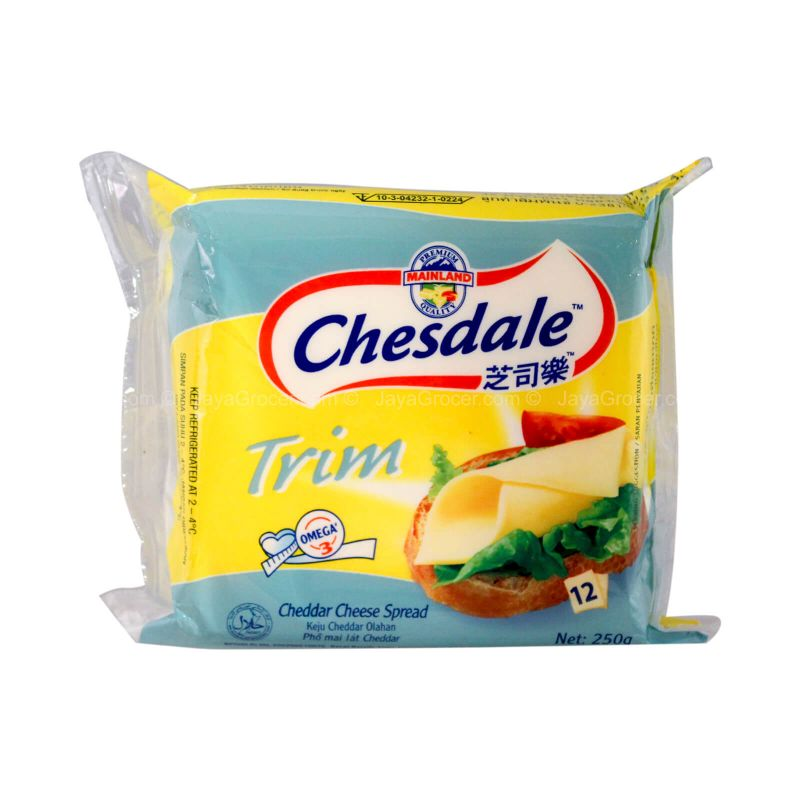 Chesdale Trim Cheddar Cheese Spread 250g