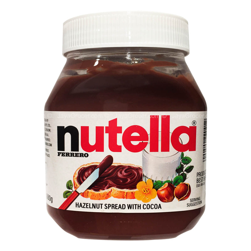 Ferrero Nutella Hazelnut Spread with Cocoa 680g
