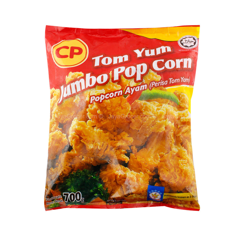 CP Tom Yum Jumbo Chicken Pop Corn 700g