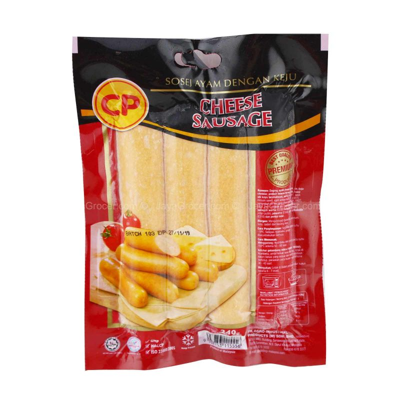 CP Cheese Sausage 240g