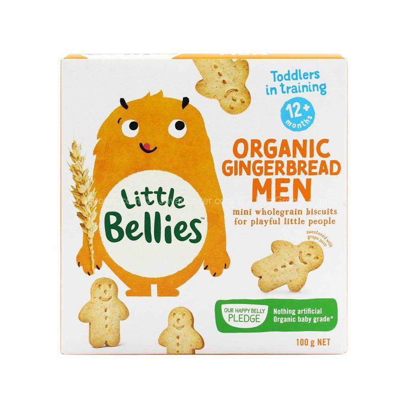 Little Bellies Mini Gingerbread Men 100g