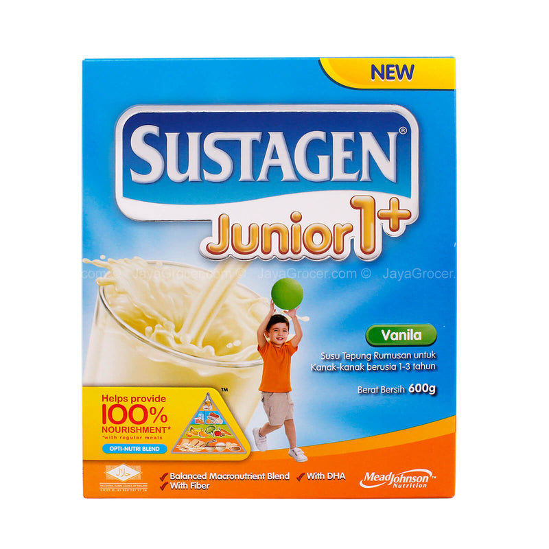 Sustagen Vanilla Junior 1+ Milk Powder 600g