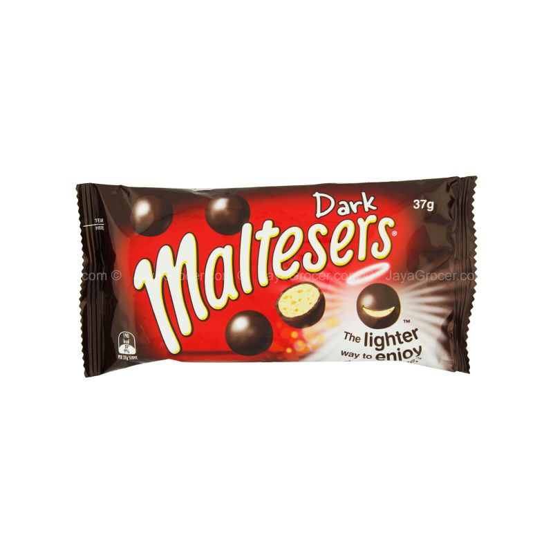 Maltesers Mini Ball Dark Chocolate 37g