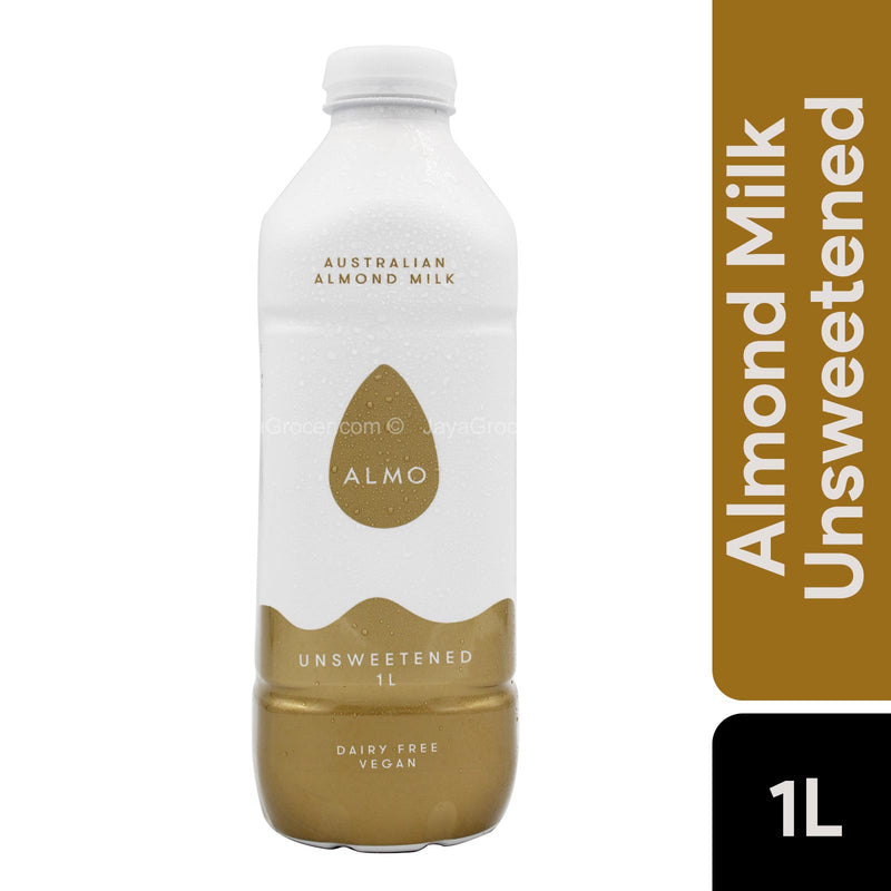 Almo Unsweetened Almond Milk 1L