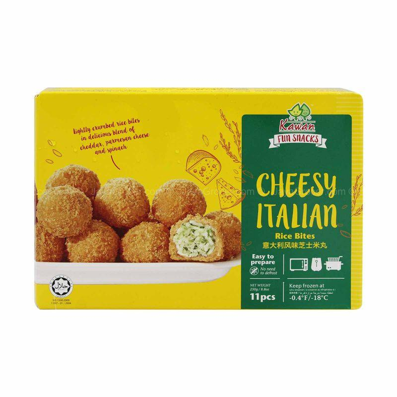Kawan Cheesy Italian Rice Bites 11pcs