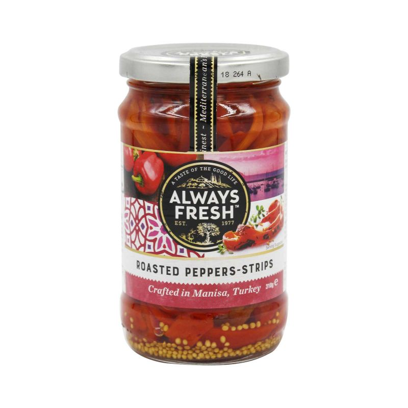 Always Fresh Roasted Strips Peppers 310g
