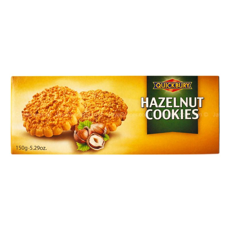 Quickbury Hazelnut Cookies 150g