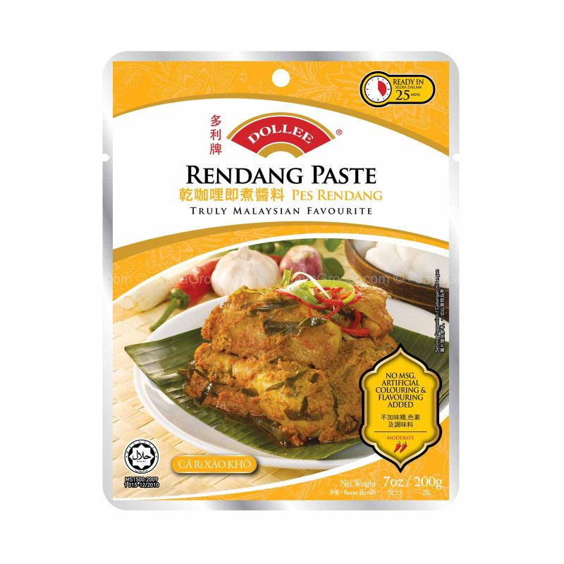 Dollee Rendang Paste 200g