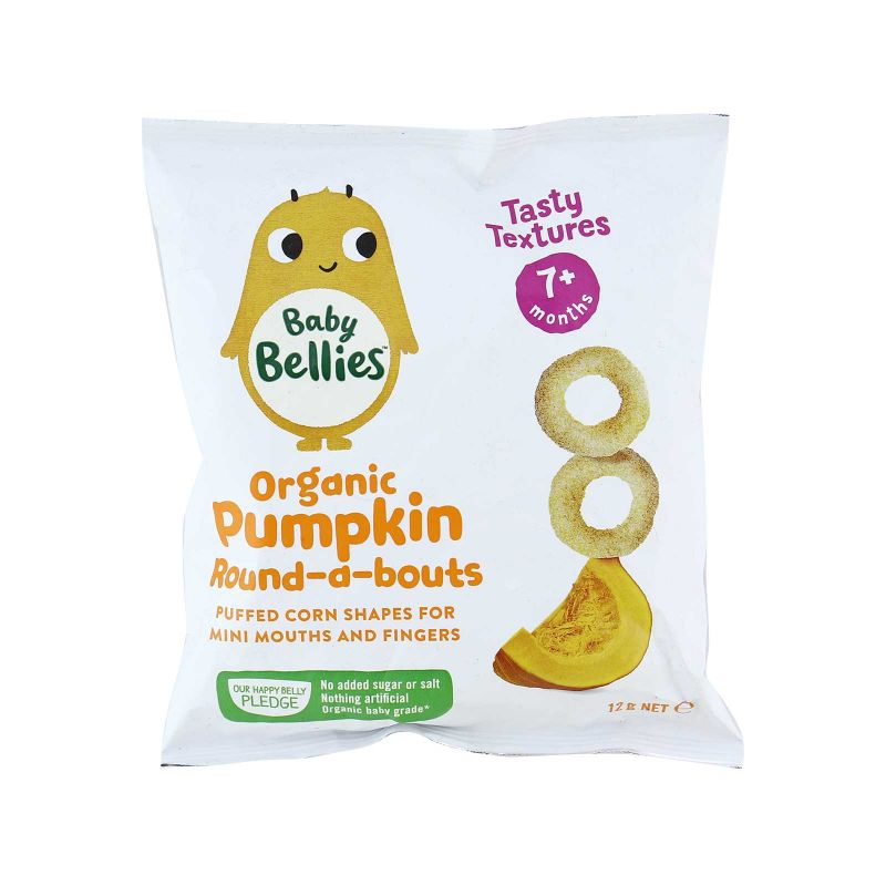 Little Bellies Round-a-bouts Perfectly Pumpkin 12g