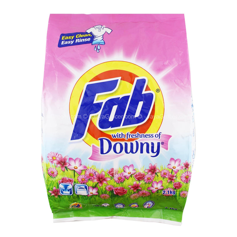 Fab Detergent Powder with Freshness of Downy 2.1kg