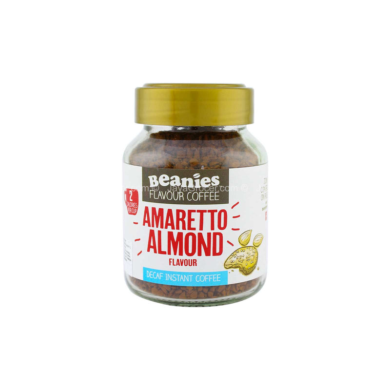Beanies Amaretto Almond Decaf Instant Coffee 50g