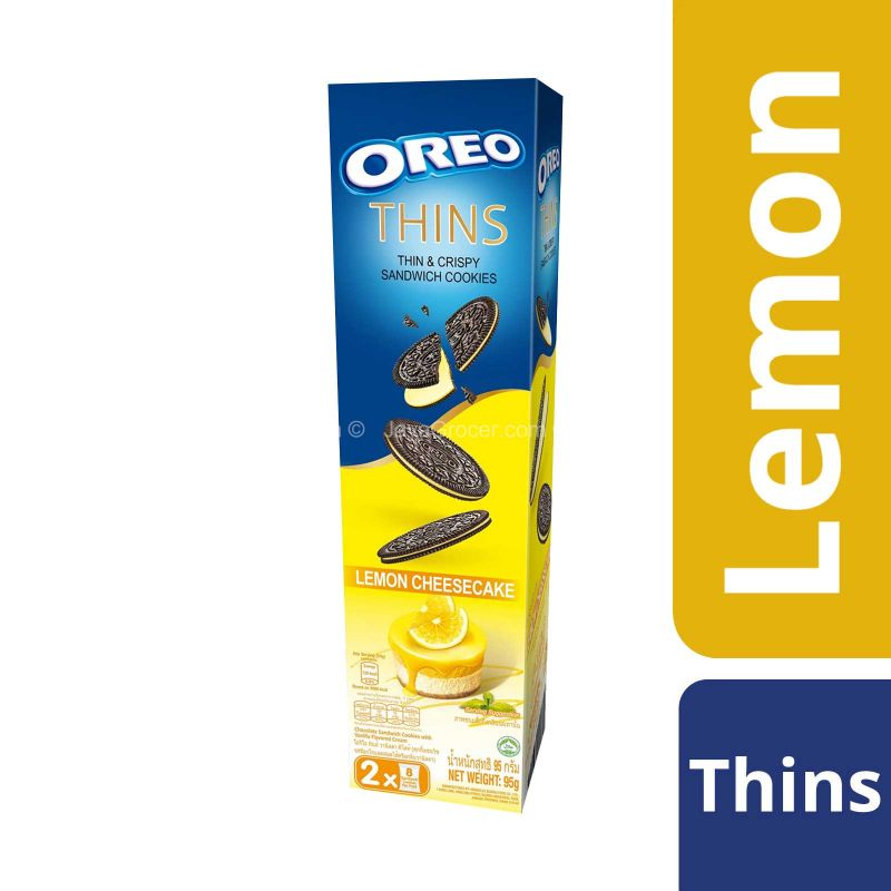 Oreo Thins Lemon Cheesecake 95g