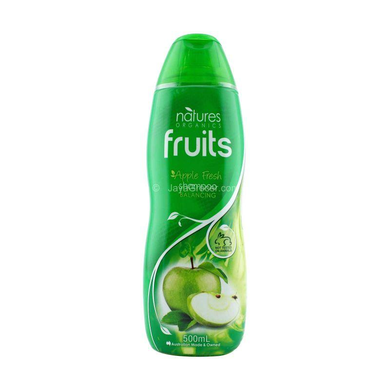 Natures Organics Fruits Apple Fresh Shampoo 500ml
