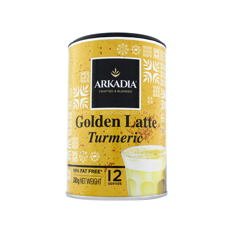 Arkadia Golden Latte Turmeric 240g