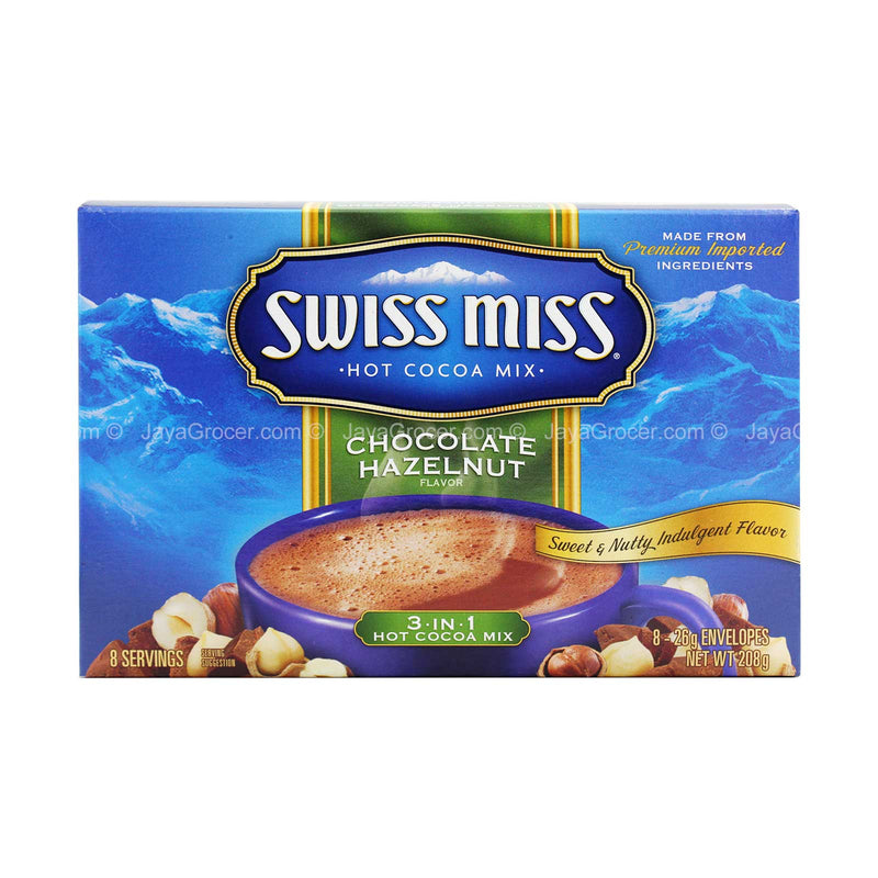 Swiss Miss Chocolate Hazelnut 3 in 1 Hot Cocoa Mix 280g