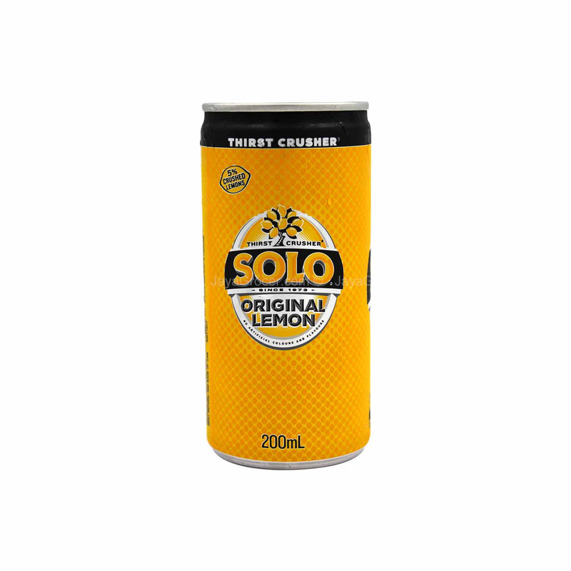 Solo Original Lemon Carbonated Drink Mini 200ml