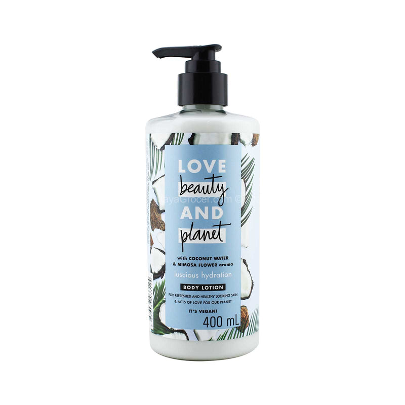 Love Beauty and Planet Luscious Hydration Body Lotion 400ml