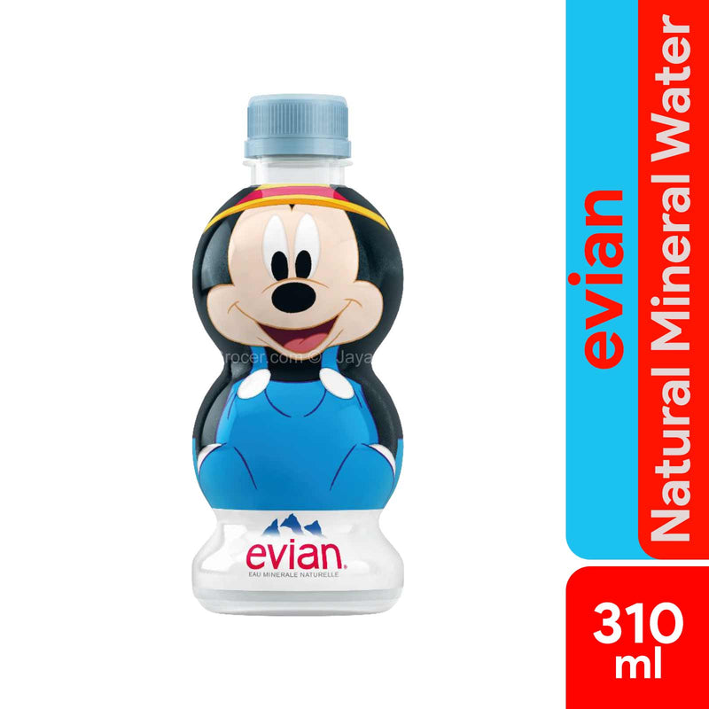 Evian Natural Mineral Water X Disney's Mickey 90 Years of Magic 310ml