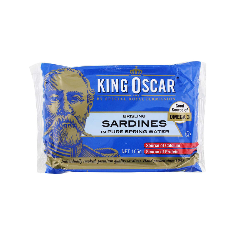King Oscar Sardines in Pure Spring Water 105g