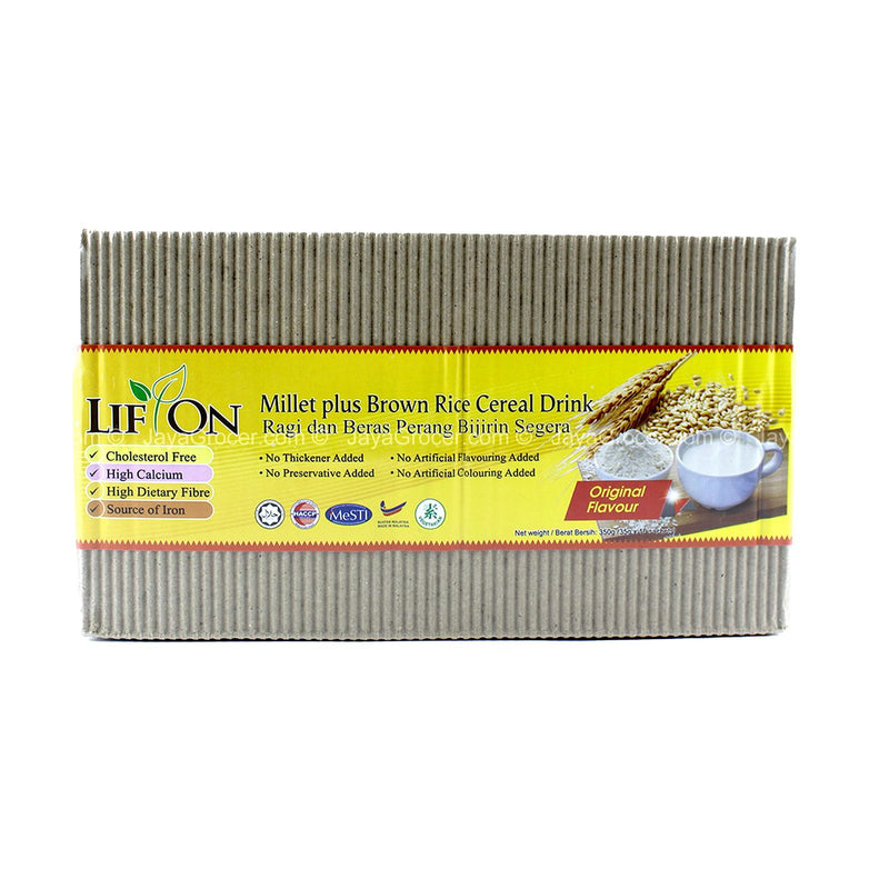 Lif on Millet plus Brown Rice Cereal Drink 350g