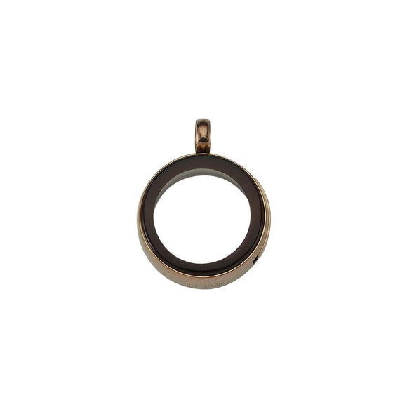 Luzyo - 20 Mm - Bronze- Side - Magnifying