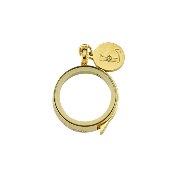 Luzyo - 20 Mm - Gold - Magnifying