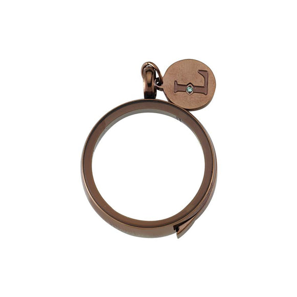 Luzyo - 25 Mm - Bronze - Side - Magnifying