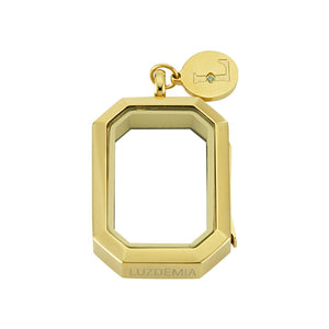true - Luzyo - V. 33 * 23 Mm - Side - Gold
