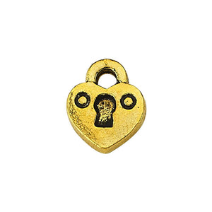 true - Luzyo Charm - 3D Locked Heart